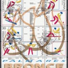 Sellos: ESPAÑA 1996 EDIFIL Nº 3418 / 3426. Lote 115416987