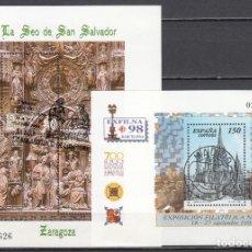 Sellos: ESPAÑA 1998 EDIFIL Nº 3557 , 3595. Lote 115418859