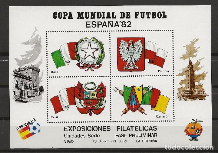 R37/ COPA MUNDIAL DE FUTBOL, ESPAÑA ´82 (Sellos - España - Juan Carlos I - Desde 1.975 a 1.985 - Nuevos)