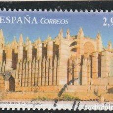 Sellos: ESPAÑA 2012 - EDIFIL NRO. SH 4743 : CATEDRAL DE PALMA MALLORCA - USADO + VIÑETA. Lote 115622255