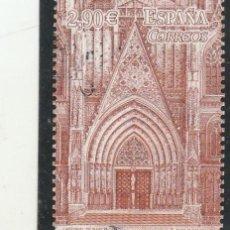 Sellos: ESPAÑA 2012 - EDIFIL NRO. SH 4747 : CATEDRAL DE BARCELONA - USADO + VIÑETA. Lote 115622311