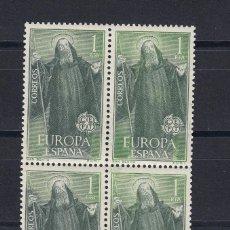 Sellos: 1965 EDIFIL 1675** NUEVOS SIN CHARNELA. BLOQUE DE CUATRO. EUROPA-CEPT. Lote 116071875