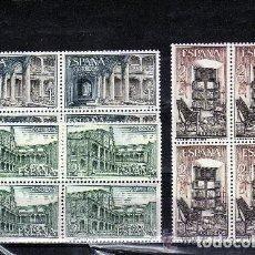 Sellos: 1965 EDIFIL 1686/88** NUEVOS SIN CHARNELA. BLOQUE DE CUATRO. MONASTERIO YUSTE. Lote 116073523