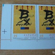 Sellos: ESPAÑA 1999 EDIFIL 3621 PAREJA NUEVOS PERFECTOS. Lote 116124831