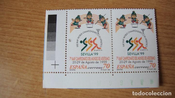 ESPAÑA 1999 EDIFIL 3627 PAREJA NUEVOS PERFECTOS (Sellos - España - Juan Carlos I - Desde 1.986 a 1.999 - Nuevos)