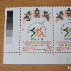 Sellos: ESPAÑA 1999 EDIFIL 3627 PAREJA NUEVOS PERFECTOS. Lote 204471596