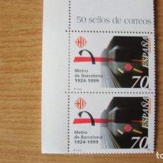 Sellos: ESPAÑA 1999 EDIFIL 3629 PAREJA NUEVOS PERFECTOS. Lote 180031145