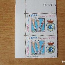 Sellos: ESPAÑA 1999 EDIFIL 3644 PAREJA NUEVOS PEFECTOS. Lote 180031195