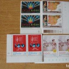 Sellos: ESPAÑA 1999 EDIFIL 3651/54 PAREJAS NUEVOS PEFECTOS. Lote 182783448