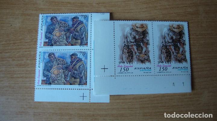 ESPAÑA 1999 EDIFIL 3656/57 PAREJA NUEVOS PERFECTOS (Sellos - España - Juan Carlos I - Desde 1.986 a 1.999 - Nuevos)