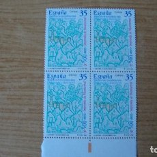 Sellos: ESPAÑA 2000 EDIFIL 3696 BLOQUE 4 NUEVOS PERFECTOS. Lote 116131671
