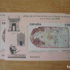 Sellos: ESPAÑA 2000 EDIFIL H-3722 (2) HOJITAS NUEVAS PERFECTAS. Lote 116134547