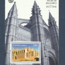 Sellos: HB 2012 CATEDRAL DE PALMA DE MALLORCA SELLO DE 2,90 EUROS, 30% DESCUENTO. Lote 218490058