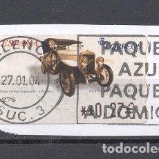 Sellos: ESPAÑA, COCHES. Lote 116447575