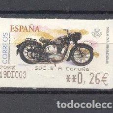Sellos: ESPAÑA, MOTOS. Lote 116447603