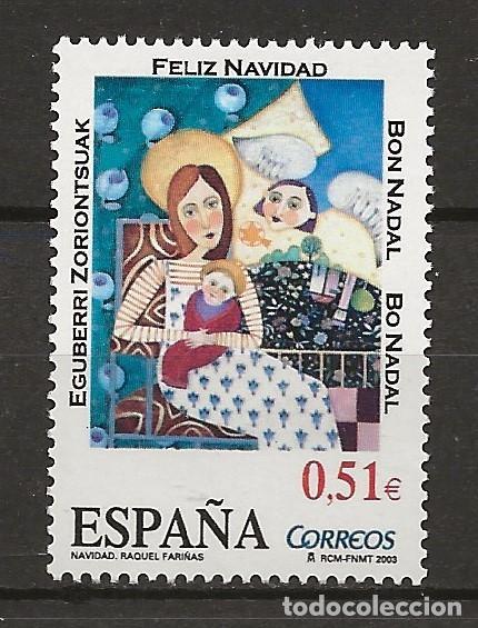 R13/ EDIFIL 4032, MNH**, 2003, NAVIDAD (Sellos - España - Juan Carlos I - Desde 2.000 - Nuevos)