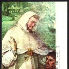 Sellos: TARJETA MAXIMA PRIMER DIA SAN PEDRO NOLASCO. 1963. Lote 116697131