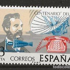 Sellos: R35/ EDIFIL 2311, MNH**, 1976, CENTENARIO DEL TELEGRAFO. Lote 116831943
