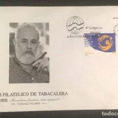 Sellos: SOBRE CLUB FILATELICO TABACALERA SERIE FUMADORES FAMOSOS PRIMER DIA DE CIRCULACION 23/10/1997. Lote 117106911