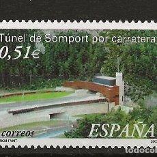 Sellos: R13.G40/ EDIFIL 3957, MNH**, 2003, TUNEL DE SOMPORT. Lote 117290459
