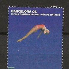 Sellos: R13.G40/ ESPAÑA 2003, MNH**, BARCELONA 03. Lote 117291499