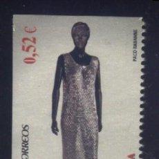 Sellos: S-1638- ESPAÑA. MODA ESPAÑOLA. PACO RABANNE. 2013. . Lote 117763539