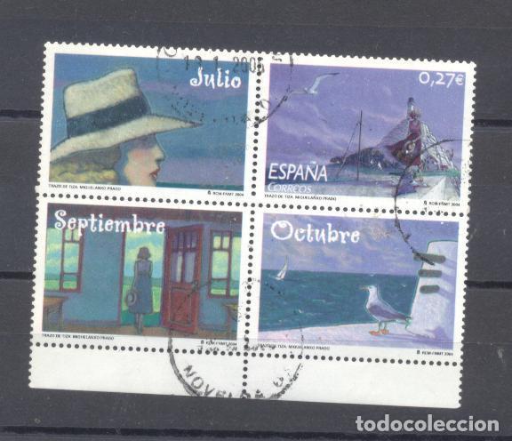 ESPAÑA- CORRESPONDENCIA EPISCOLAR ESCOLAR 2004 (Sellos - España - Juan Carlos I - Desde 2.000 - Nuevos)