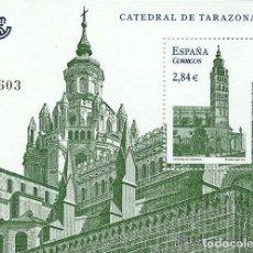 Sellos: AÑO 2011 (4679) HB CATEDRAL DE TARAZONA (NUEVO). Lote 131096547