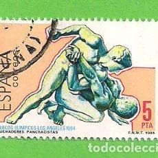 Stamps - EDIFIL 2770. JUEGOS OLÍMPICOS. LOS ÁNGELES - LUCHADORES. (1984). - 118474455