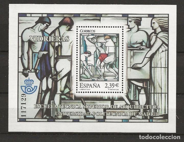 R13.G15/ EDIFIL 4280, MNH**, 2006, VIDRIERAS (Sellos - España - Juan Carlos I - Desde 2.000 - Nuevos)