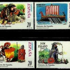 Sellos: ESPAÑA 2000- EDI 3732-34-40-47 (SELLOS: HISTORIA DE ESPAÑA). Lote 118589655