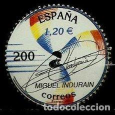 Sellos: ESPAÑA 2000- EDI 3760 SH (SELLO: INDURAIN). Lote 118590299