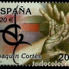 Sellos: ESPAÑA 2000- EDI 3762 SH (SELLO: JOAQUIN CORTES). Lote 118590343