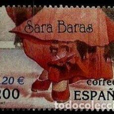 Sellos: ESPAÑA 2000- EDI 3763 SH (SELLO: SARA BARAS). Lote 118590447