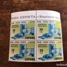 Sellos: EDIFIL 2566 - ESPAÑA EXPORTA BLOQUE DE 4. Lote 118636679