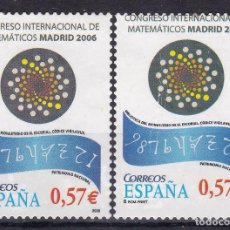 Sellos: CL8-23- CONGRESO INTERNACIONAL DE MATEMÁTICOS. VARIEDAD (*) SIN GOMA . Lote 118706731