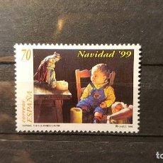 Sellos: SELLO NUEVO 1999. EDIFIL Nº 3686. NAVIDAD. NAVIDAD DE ISABEL GUERRA. 5 DE NOVIEMBRE. Lote 118795123