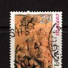 Sellos: ESPAÑA 3335 - AÑO 1994 - NAVIDAD - RETABLO DE RIPOLL . Lote 140782248