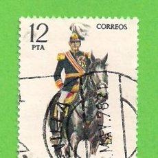 Sellos: EDIFIL 2455. UNIFORMES MILITARES - CAPITÁN GENERAL. (1978). Lote 119195647