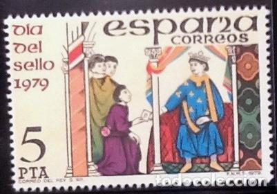 DÍA DEL SELLO. EDIFIL 2526. 1979. (Sellos - España - Juan Carlos I - Desde 1.975 a 1.985 - Nuevos)