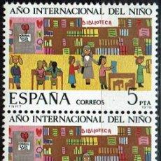 Sellos: AÑO INTERNACIONAL DEL NIÑO 1979 - EDIFIL 2519 - (**). Lote 119262027