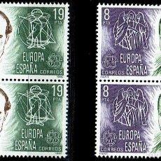 Sellos: ESPAÑA 1980. EUROPA-CEPT - EDIFIL 2568/2569 - (**). Lote 119273739