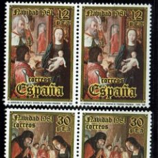 Sellos: ESPAÑA 1981. NAVIDAD 1981, EDIFIL 2632 - (**). Lote 119281955