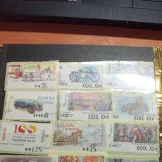 Sellos: ATM. 17 ETIQUETAS DIFERENTES. Lote 119758987