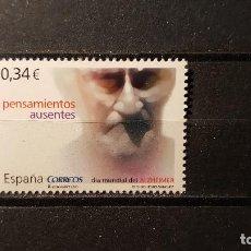 Sellos: SELLO NUEVO 2010. EDIFIL Nº 4587. DIA MUNDIAL DEL ALZHEIMER. ENFERMO DE ALZHEIMER. 9 SEPTIEMBRE 2010. Lote 120552891