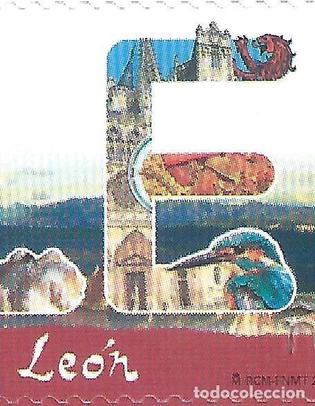 Sellos: CATEDRAL DE LEÓN 2018 (VARIEDAD...IMAGEN DE BURGOS EN LUGAR DE LEÓN ). SOBRE PRIMER DÍA 02-04-2018. - Foto 2 - 199873778