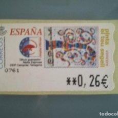 Sellos: ATM PINTA EL TEU SEGELL NUEVA 0,26 EUROS. Lote 189946438