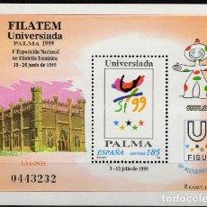 Sellos: ESPAÑA 1999. EDIFIL 3648 MNH. FILATEM-UNIVERSIADA PALMA 1999. Lote 121416231