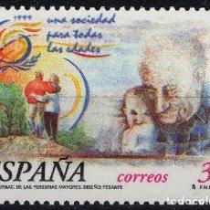 Sellos: ESPAÑA 1999. EDIFIL 3660 MNH. AÑO INTERNACIONAL DE LAS PERSONAS MAYORES. Lote 121416983