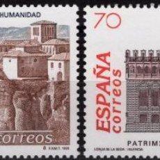 Sellos: ESPAÑA 1998. EDIFIL 3558/59 MNH - BIENES CULTURALES Y NATURALES PATRIMONIO MUNDIAL DE LA HUMANIDAD. Lote 121754651